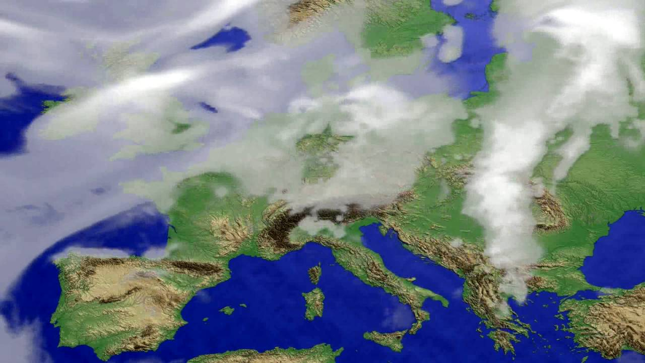 Cloud forecast Europe 2016-07-26