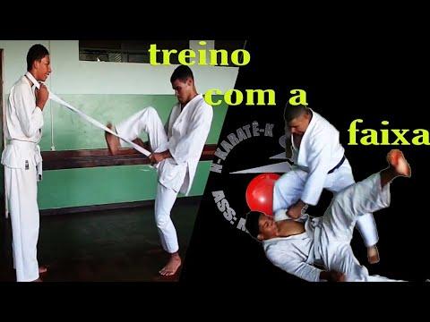 Karate em Santa Mariana treino de sábado 01-abril- 2004