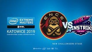ENCE vs Winstrike, game 1