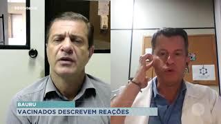 Especialista explica que qualquer tipo de vacina pode causar reações