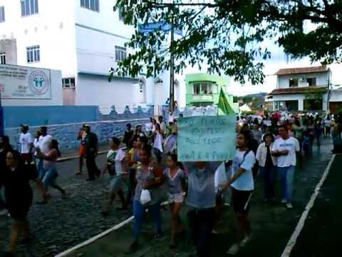 Protesto em Itororó 01 de julho de 2013