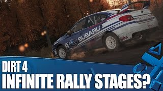 New gameplay of rally racer Dirt 4, with a look at the Your Stage system which used procedural generation in set locations to offer a never-ending supply of ...