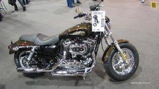 7. 2013 Harley-Davidson Sportster 1200 Custom Anniversary Edition - 2012 Toronto Moto Show