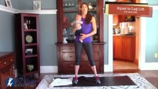 The Active Mommy:  Total Body Workout with your Little One.