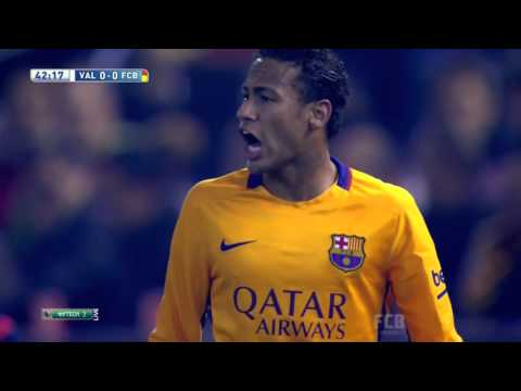 Neymar Vs Valencia Away 2015/16 HD