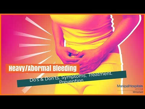 What is Abnormal Uterine Bleeding & when can bleeding be considered abnormal? Dr. Tasneem, MHW