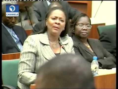 Video:SEC boss Arunma Oteh exposes Hon. Hembe -Channelstv