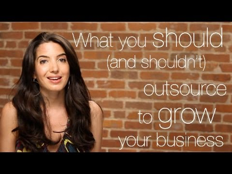 Watch 'What You Should (and Shouldn't) Outsource To Grow Your Business - YouTube'