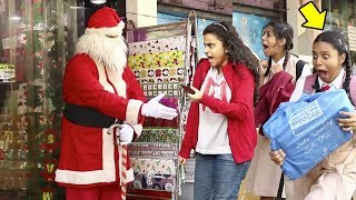 Video Scary Santa Claus Prank | Christmas Special | BOB -Raj MP3, 3GP, MP4, WEBM, AVI, FLV Juli 2018