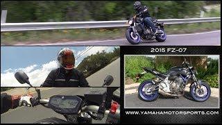 8. Greg's Garage: 2015 Yamaha FZ-07! - Ep #35 - Seg 2