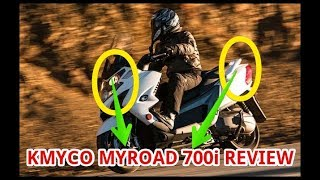 3. Kymco MyRoad 700i Review