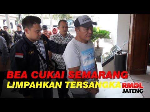 Bea Cukai Limpahkan Tersangka Rokok Ilegal Ke Kejari Semarang