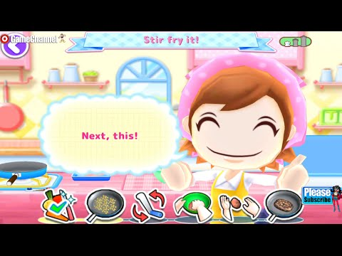 COOKING MAMA Let's Cook Hamburgers making