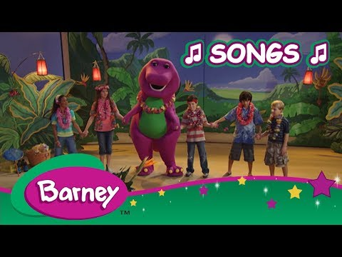 Barney 🎵 Best Song Compilation 🎵 Part 7 ✈️ Let's Go on Vacation
