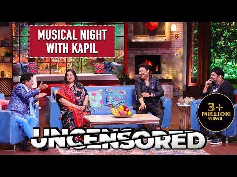 Laughter Night With 90s Singers Uncensored | The Kapil Sharma Show | Udit Ji, Sanu Da & Anuradha Ji