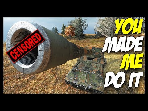 ► You Made Me Do It! - World of Tanks Live Gameplay