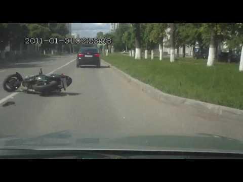 Авария с мотоциклистом в Чебоксарах