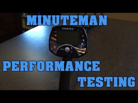 Metal Detecting:  Teknetics Ameritek Minuteman - Performance Review