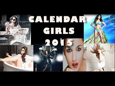 BOLLYWOOD CALENDAR GIRLS 2015