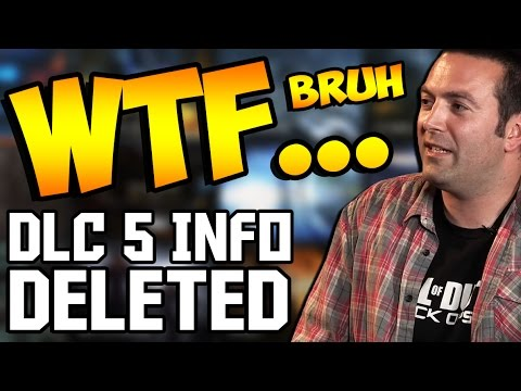 DLC 5 INFORMATION DELETED! ~ Black Ops 3 Zombies DLC 5 Cancelled or Confirmed?