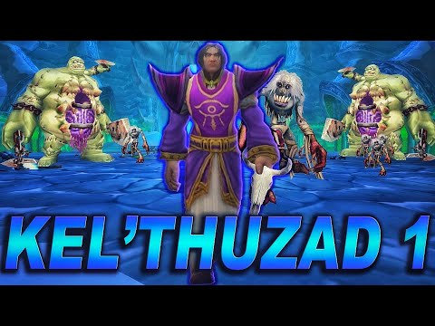 The Story of Kel'Thuzad - Part 1 of 2 [Lore] (видео)