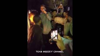 Chris Brown - at the Super Bowl Party  P Diddy 's Party  Instagram Videos