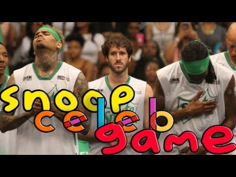 OHHH SNOOP did NOT?! | 2018 ADDIDAS Game | Odell Beckham, Chris Brown, Lil' Dicky, Lil Pump (видео)