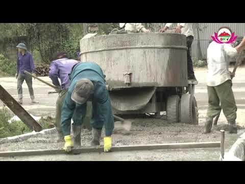 Xã Châu Cường làm 4 tuyến đường nông thôn mới