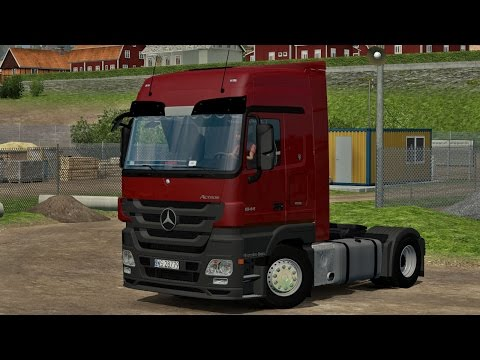 Mercedes MP3 Actros 1844 V2