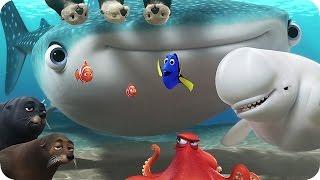 Disney Pixars FINDING DORY New Promo Clips (2016)