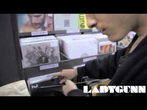 LADYGUNN TV / TRUST @ ROUGH TRADE RECORDS NYC