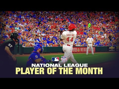 Video: Aristides Aquino WENT OFF to win August's NL Player of the Month