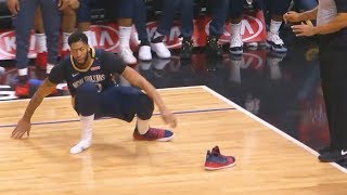 Patrick Beverley Steals Anthony Davis' Shoe Then Gets A Technical Foul! Pelicans vs Clippers