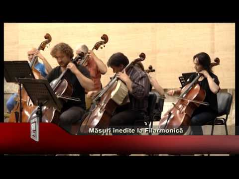 Masuri inedite la Filarmonica