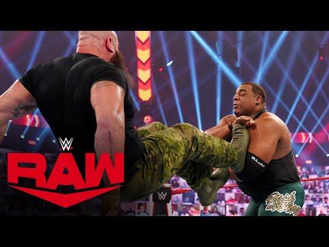 Keith Lee vs. Braun Strowman – Exhibition: Raw, Oct. 5, 2020