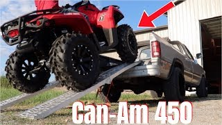 2. WHAT YOU WANT TO KNOW ABOUT THE Can-Am OUTLANDER 450!!!