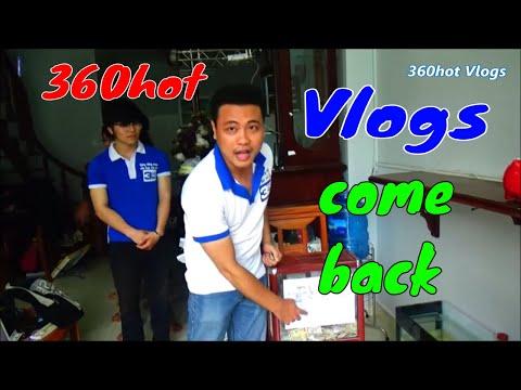 Thông báo 360hot Vlogs hoạt động lại