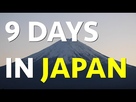 9 Days in Japan