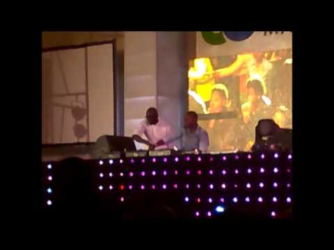 black coffee and shimza NWU (Mafikeng) 2014 Freshers:  Dj Black Coffee and Dj Shimza due blessing UniWest Mafikeng campus