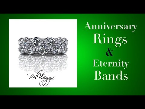 Anniversary Rings, Wedding Bands, and Eternity Rings