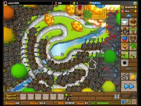 BTD5 Money Tips for Middle rounds No Cheats!
