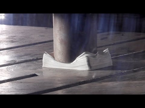 The Slow Mo Guys Hydraulic Press in Slow Motion