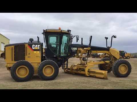 CATERPILLAR MOTONIVELADORAS 120MAWD equipment video 1A9mUMDz3K0