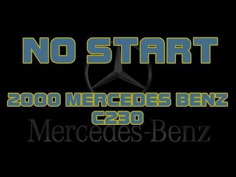 ⭐ 2000 Mercedes Benz C230 - Cranks But Does Not Start