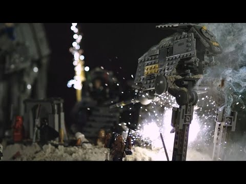 【痛快過癮】超高速攝影LEGO 星際大戰爆破秀~