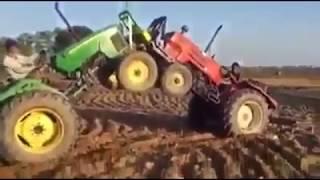tractor tochan,best tractor fight,mukabala,john deer vs swaraj 855,ਟਰੈਕਟਰ ਮੁਕਾਬਲਾ,ਟੋਚਨ,