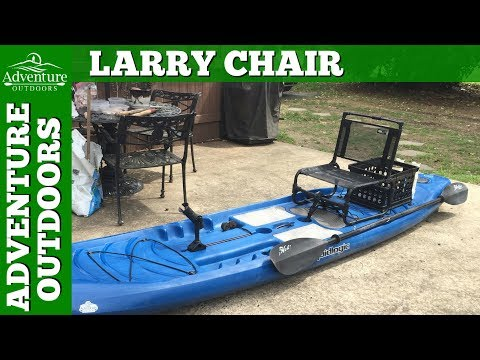 The Larry Chair For My Paddle Board Fishing Setup