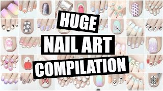 Video HUGE Nail Art Compilation! The Nail Trail MP3, 3GP, MP4, WEBM, AVI, FLV Agustus 2019