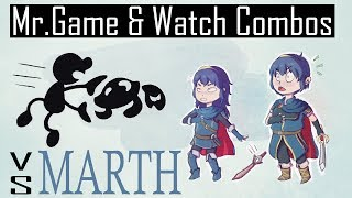 [Smash 4] A concise guide to G&W combos vs Marth