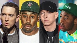 "Tyler The Creator‏ Disses Eminem Walk on Water ""This Song is Horrible"""